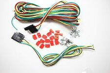 25ft 4 Way Trailer Wiring Connection Kit Flat Wire Extension Harness Boat Car