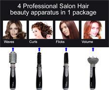 Professional Salon Ceramic Hair Straightener Rotating Curler Ionic Anion Blower