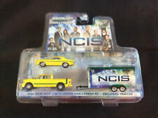 Greenlight 1:64 2015 Ram 1500 with 1970 Dodge Challenger RT NCIS GREEN MACHINE