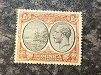 DOMINICA POSTAGE & REVENUE STAMP SG75 1 1/2D UN MOUNTED MINT