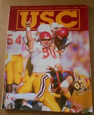 1989 U.S.C. TROJANS SOUTHERN CALIFORNIA VS OHIO STATE FOOTBALL PROGRAM
