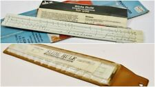 Vtg. Slide Rules Lot of 2: (1) Sterling+ (1) Atco Excellent Condition