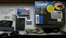 Olympus Mju µ 725 SW 7.1MP Digital Camera - Deep blue + 64 MB XD Memory Card