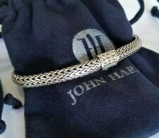 John Hardy - Classic Sterling Silver Woven Chain Bracelet - Stunning! $495