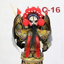 C-16 China Peking Oper chinesisch Puppe Figur Seide 31 cm Neu Geschenkidee OVP