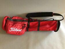 Titleist Lightweight Sunday Golf Carry Bag - RED - Nice