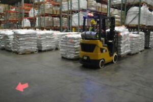 Red Arrow Safety Zone Light -Forklift,Line Marking, Industrial safety - 10v-80v