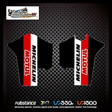 Gas gas ec 10-15 Michelin Motul INFERIOR HORQUILLA NEGRO Decal Sticker MX (463)