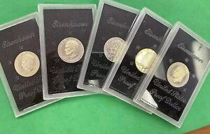 1974 SILVER PROOF IKE $1's $11 Each