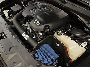 aFe Magnum FORCE Pro 5R Cold Air Intake Fits 11-2020 Dodge Charger 3.6L V6 13HP