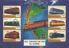Timbres Trains Guinée BF 2150DC/DH ** année 2001 lot 17594 - cote : 28 €
