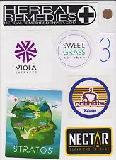 Lot of Marijuana Industry Stickers-Colorado MMJ Dispensary Weed Edibles 420-#3