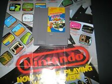 Shooting Range Bandai 1989 Nes Gr8T Labels Clean Pins Tested Works Very Hq