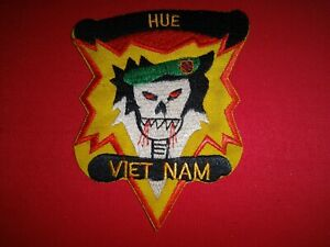 US 5th Special Forces Group MACV-SOG At HUE Province Vietnam War Patch