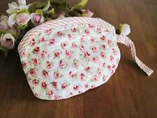 Coming Again!! Chic Lovely Red Rose Cotton Quilted Zipper Makeup Bag Pouch A12