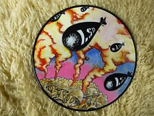 "SOVJET L.S.D. BOMBER 7"" 45 RPM SWEDEN PSYCH ROCK PICTURE DISC O.O.P."