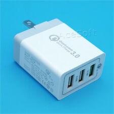 Portable 3-Port USB Fast Charging Charger Adapter for ZTE Grand X 4 Z956 Cricket
