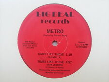 Metro - Times Like These