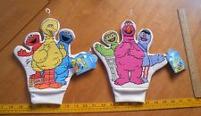 Sesame Street Story time Glove puppet Applause MWT fingers pair 1993