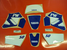 YAMAHA PW 50 GRAPHICS DECALS STICKER KIT