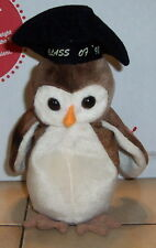 Ty Wise The Owl Beanie Baby 1998 plush toy