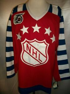 "Brett Hull St. Louis Blues Red & White ""1992 All-Star Throwback"" CCM NHL Jersey"