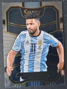 Panini Select 2017/18 Prizm Sergio Aguero Argentina card