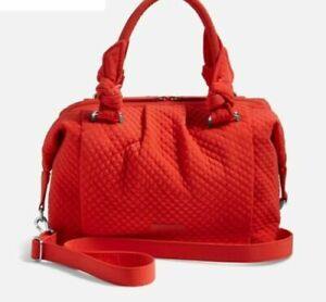Vera Bradley Hadley Satchel Canyon Sunset Microfiber Purse Tote Shoulder Bag NWT