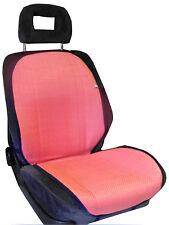 coppia schienale estivo fresco coprisedile auto universale paglia rosa donna