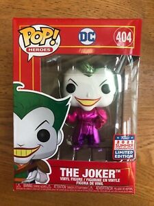 Funko Pop! Vinyl DC China con exclusive Imperial purple metallic Joker