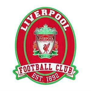 WinCraft Liverpool FC Wood Sign 11X13