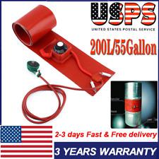 200L/55Gallon 1000W 240V Silicone Band Drum Heater Oil Biodiesel Metal Barrel Us