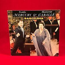 "FREDDIE MERCURY & MONTSERRAT CABALLE Barcelona 1987 German 7"" vinyl Single  J"