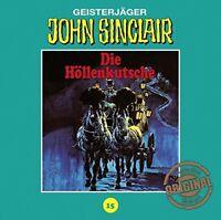 JOHN SINCLAIR TONSTUDIO BRAUN-FOLGE 15 - DIE HÖLLENKUTSCHE  CD NEW
