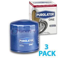 3 Pack Purolator ONE PL14670 Engine Oil Filter - 3x Long Life xk