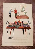 Denby Pottery OR Sanderson Fabric - 1959 Advertisement