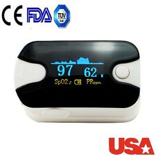 USA * Fingertip Pulse Oximeter Finger Blood Oxygen SpO2 PR Monitor Precise Color