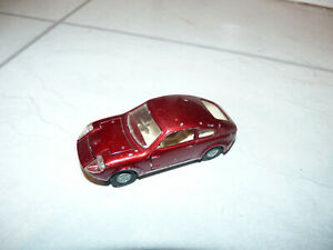 Corgi Toys Mini Marcos Gt850 in Red with Golden Jacks Wheels, No341