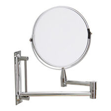 Wall Mounted Extendable Bathroom Makeup Cosmetic Mirror 3X Magnifying Dual Side