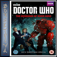 DOCTOR WHO 2015 CHRISTMAS SPECIAL - THE HUSBANDS OF RIVER SONG*BRAND NEW DVD ***