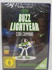 Captain Buzz Lightyear - Star Command: Das Abenteuer beginnt Disney DVD NEU