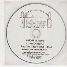 (GW656) Absorb Vs Sequel, Step One - 2010 DJ CD