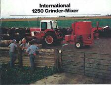 Farm Equipment Brochure - IH - 125 - Grinder-Mixer - c1979 (F5296)