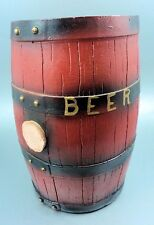 Vintage Beer Barrel Bank Carnival Prize