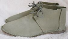 Clarks Erin Craft olive suede flat lace up ankle boots UK 5.5 EU 39 BNIB