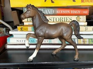 NORCREST Brown Horse Pony Ceramic Porcelain Figurine - Made in Japan