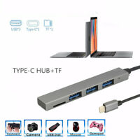 4in1 Type-C USB Hub USB 2.0 Adapter Socket High Speed For PC Laptop Accessory