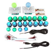 arcade single-player controllo KIT -2 Ball  JOYSTICK,20 led luminosi pulsanti