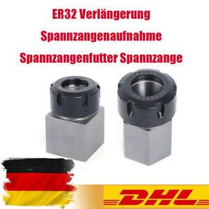 ER32 Spannzangenblock / Vierkant-Spannzangenblock Spannzangenfutter Spannzange
