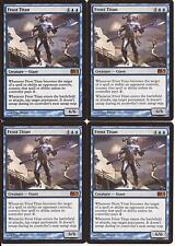 4 TITAN ESCARCHADO Magic 2011 NM English M11 Frost titan MTG x4